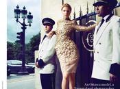 "Canadian Paris"", Amanda Nimmo Haute Couture Fashion Magazine Benjamin Kanarek"