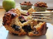 Blueberry, Apple Muffins