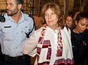 Anat Hoffman Arrested Wall Between Israel Palestine