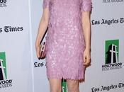 Bella HeathCote's Pink Gucci Dress Stunner Hollywood Film Awards