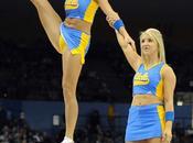 UCLA Cheerleaders Flexible