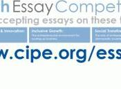 Last Call CIPE's International Youth Essay Competition!
