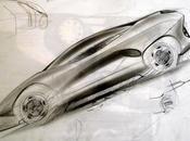 Supercar Side View Sketch Luciano Bove