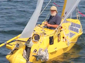 Sailor Planning Sail Around World 10-Foot Boat