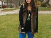 Outfit: Faux Colored Denim