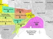 Paul Neighborhoods with Highest Walk Scores