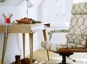Interior Design Inspirations Retro Home: Office Space