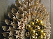Rolled Book Page Wreath Tutorial