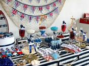 Nautical Inspired Party Sweetest Thing Candy Buffet Event Styling