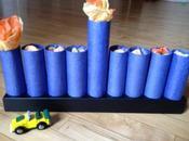 Easy DIY: Paper Tube Gift Menorah