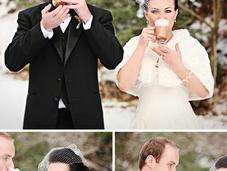 Ideas Christmas Themed Wedding