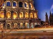Touristic Colosseum Rome
