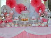 Pink White Polka Themed Party Sweet Collection