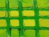 Constructing Green Grid Painting Paper