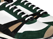 Modern RunningMen: Balenciaga Leather Suede Trainers