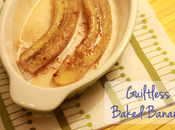 Guiltless Baked Banana
