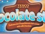 Tesco Chocolate Stars Biscuits Review