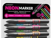 Letraset Neon Markers Product Review
