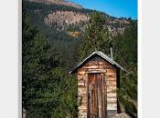 Rustic Mountain Outhouse Independence, Colorado