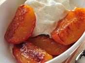 Honey Caramelized Peaches with Vanilla Mascarpone Cream