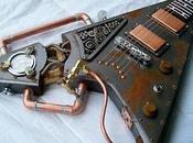 Incredible Steampunk Guitars