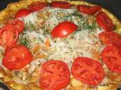 Bold Spicy Garden Omelette