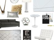 Latest Living Room Thoughts: Organic Modern Neutral Glam?