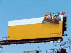 Hunny-Covered Billboard