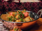 Restaurant Style, Navratan Korma Indian Style Medley Vegetables Spices Rich Creamy Gravy