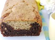 Black Bottomed Ovaltine Banana Bread