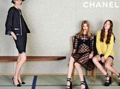 Stella Tennant, Ondria Hardin Yumi Lambert Karl Lagerfeld Chanel Spring 2013 Campaign
