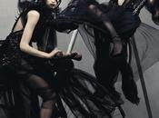Cover: Vanessa Axente Mackenzie Drazan Steven Meisel Vogue Italia July 2012