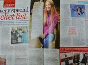 Bucket List Been Featured Woman's Magazine!