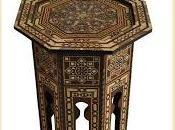 Best Example Exquisite Craftsmanship Moroccan Tables