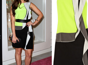Jessica Lowndes Neon Green Dress Inspired Nail