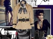Burberry Studded Cotton Twill Trench Coat