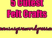 Cutest Felt Crafts-Inspiration