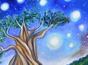 Paintings: Tree Life, Star Clouds Fiery Colors