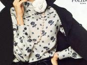 Anjelica Huston Models Valentino.