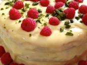White Chocolate, Raspberry Pistachio Birthday Cake