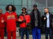 Dennis Rodman Members Harlem Globetrotters Arrive Pyongyang