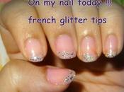 Nail Today French Glitter Tips
