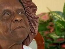 Elderly Woman Thrown Train Singing