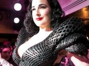 Dita Teese Looks Stunning World's First Fully Printed Dress