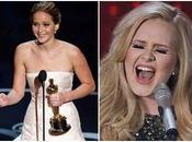 Singer Adele Bonding With Actress Jennifer Lawrence