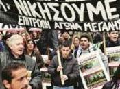 Thousands Workers Protest Gold Mine Athens