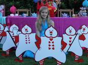 Alice Wonderland Party Prop Hire