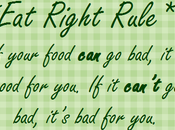 Eating Right Rule