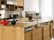 Storage-Saving Salvaged Wood Kitchen Brooklyn