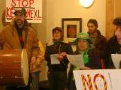 Katuah Earth First! Shuts Down Bank Protest Against Kesytone